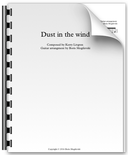 Dust in the wind - Kansas (PDF)