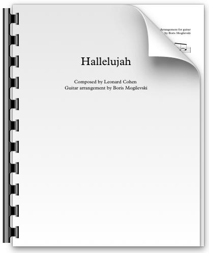 Hallelujah - Leonard Cohen (PDF)