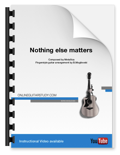 Nothing Else Matters - Fingerstyle guitar