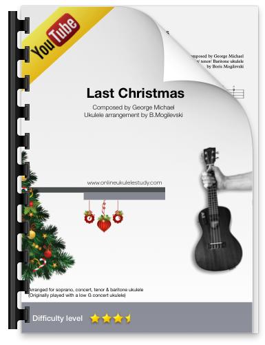 Last Christmas - (Wham) Fingerstyle ukulele arrangement
