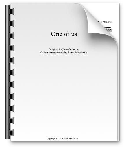 One of us - Joan Osborne (PDF)