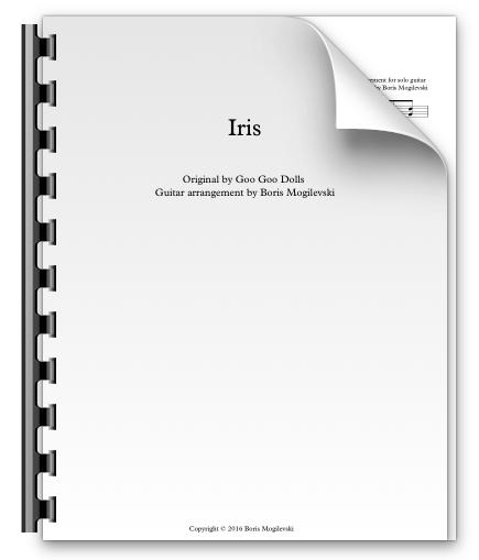 Iris - Goo Goo Dolls (PDF)