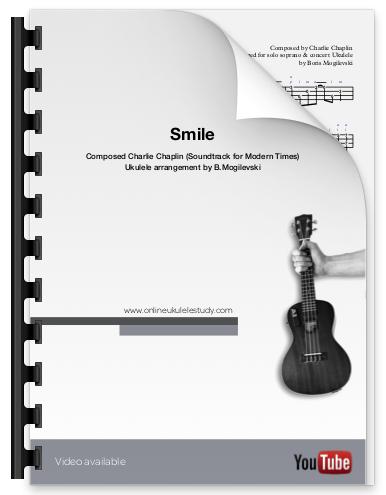 Smile (Charlie Chaplin) - Ukulele