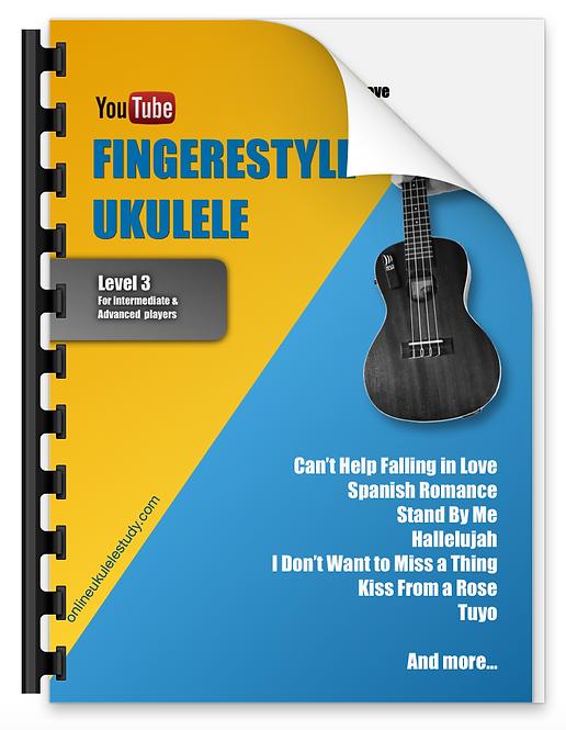 Fingerstyle ukulele - 10 songs (intermediate/ advanced level)
