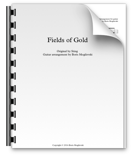 Fields of Gold - Sting (PDF)
