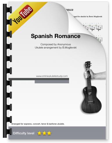 Spanish Romance - Fingerstyle ukulele