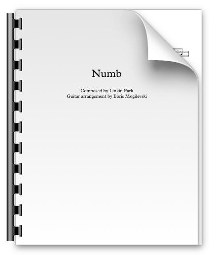 Numb - Linkin Park (PDF)