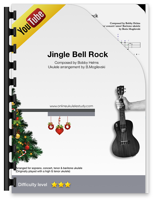 Jingle Bell Rock - Fingerstyle ukulele arrangement
