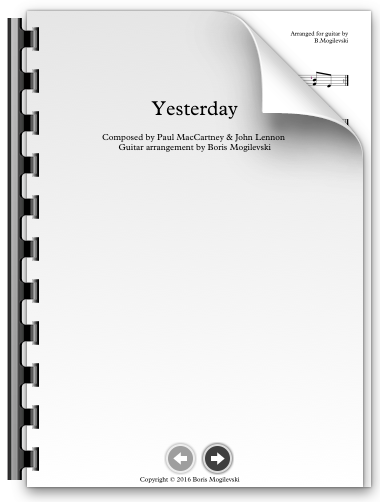 Yesterday - The Beatles (PDF)