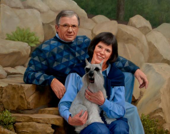 Steve, Karen, and Tucker
