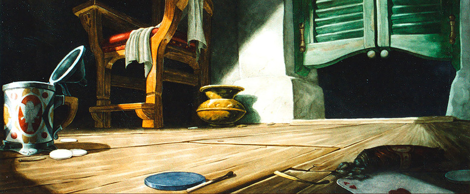 Pinocchio Background Test