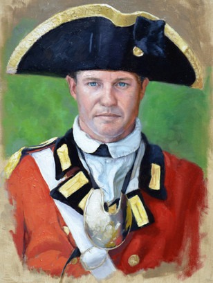 British Officer 18th Century