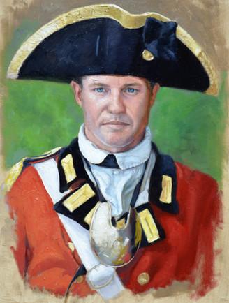 British Officer 18th Century