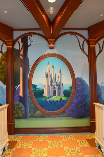 Theme Park Mural