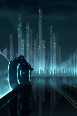 Tron Screen Design DS