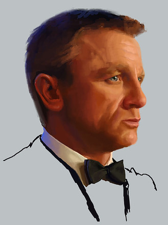James Bond Bloodstone Character Bust