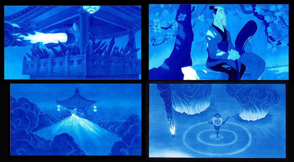 Mulan Value Studies