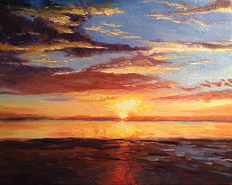 Sunrise Gulf of Mexico