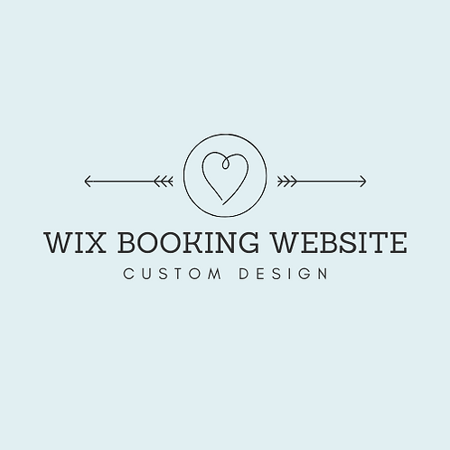 Wix Booking Website
