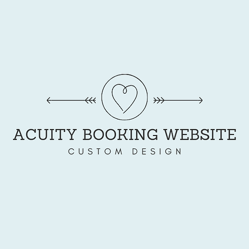 Acuity Booking Website