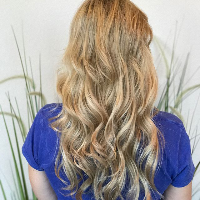 22 _hushhairco extensions for this soon to be fellow Army Mom, Hooah! #scvcolorist #studioindigoscv