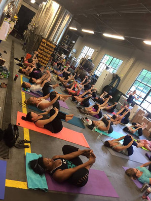 Bend & Brew and FREE Yoga!