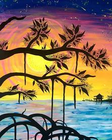 A mangrove sunset! (2014)