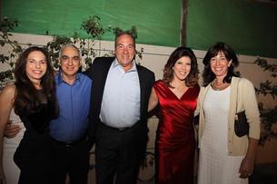 """Friendship Foundation Chairman Rabbi Yechiel Eckstein and Joel fundraiser """"Hom for the children"""