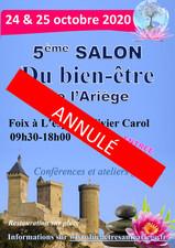 5ème salon du bien-être de l'Ariège annulé