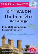 5ème Salon du Bien-être de l'Ariège les 24/25 octobre 2020 à Foix