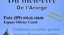 4ème Salon du bien-être à Foix les 26-27 octobre 2019