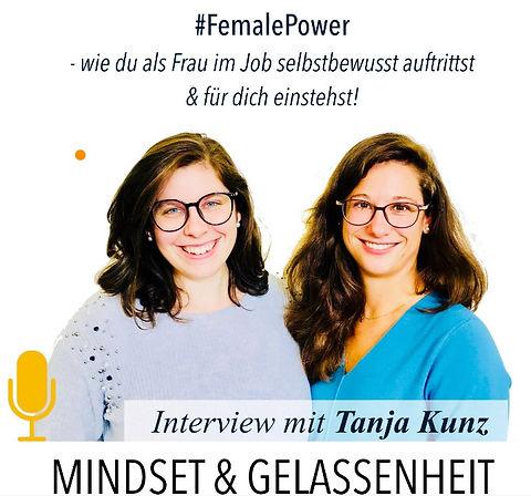 Podcast Mindset & Gelassenheit mit Tanja Kunz und Sophie Frings