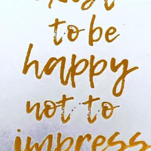 exist to be happy