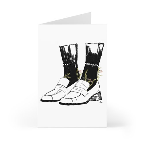 """""""What About Them Balenciaga"""" Cards (7 pcs)"""
