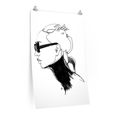 """""""J'adore XoXo"""" Poster"""