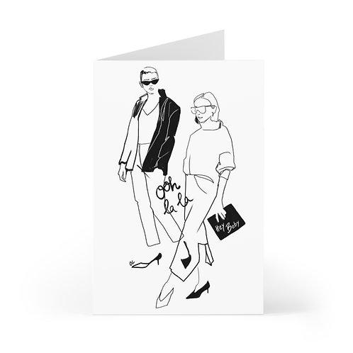 """Ohh La La"" Cards (7 pcs)"
