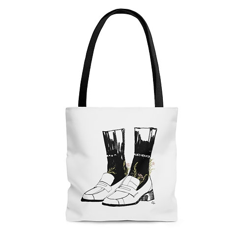 """Full Bloom Flats"" Tote"