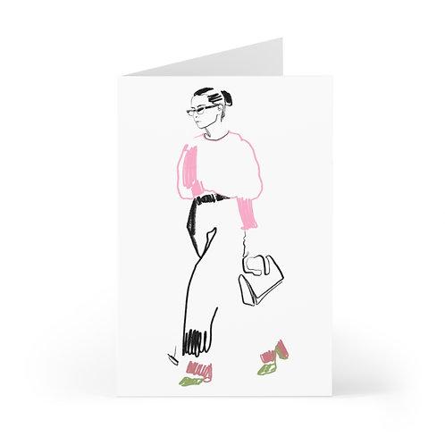 """OOTD Walk"" Cards (7 pcs)"