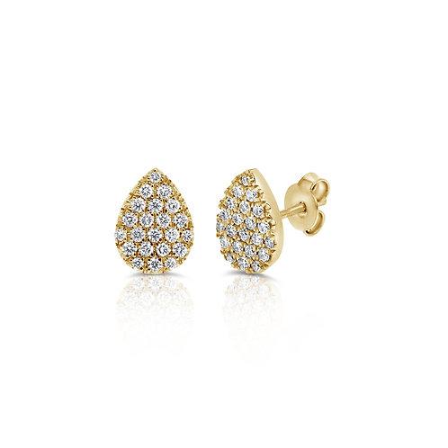 Limon stud earrings