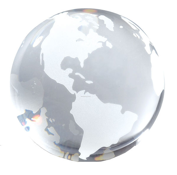 Clear-Opti-crystal-Globe-Paperweight_386