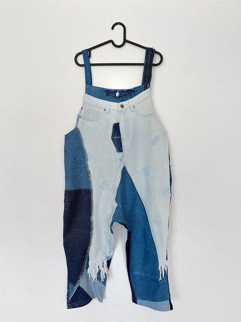 Upcycled Denim Jumpsuit
