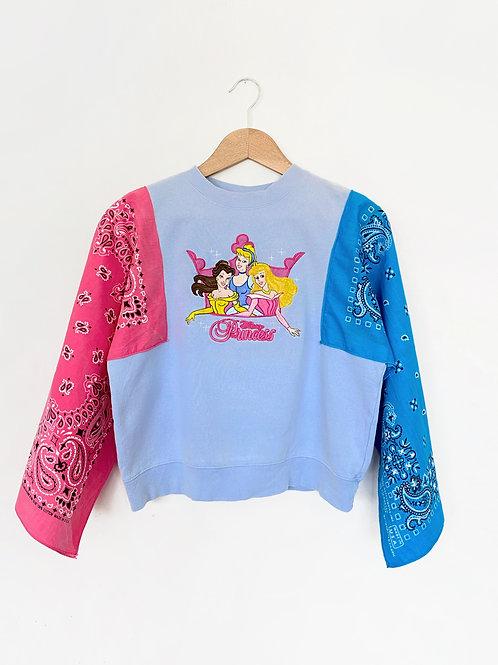 Upcycled Bandana Sweater