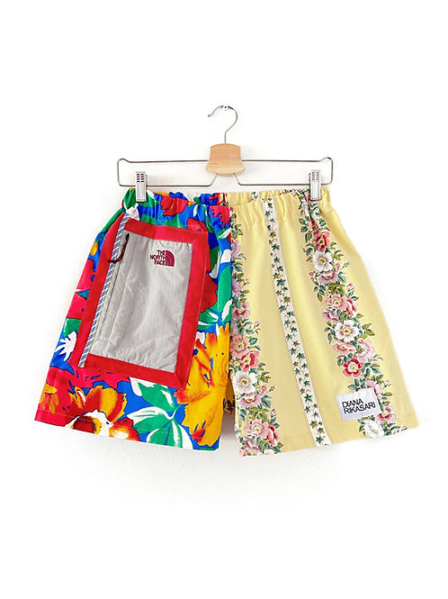 Vintage Curtain Shorts