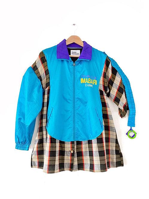 Upcycled Windbreaker Jacket