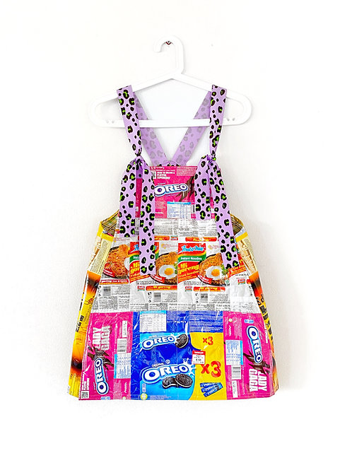 Upcycled Packaging Dress