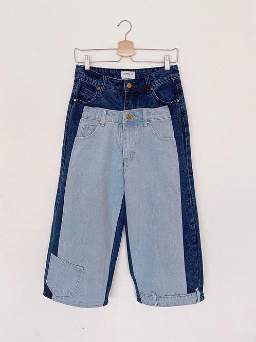 Upcycled Denim Pants