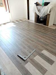 Pose de plancher et lames vinyle