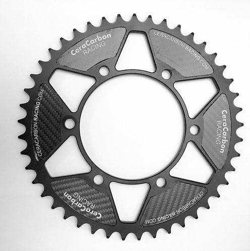 Ceracarbon Kettenrad für die Yamaha R6