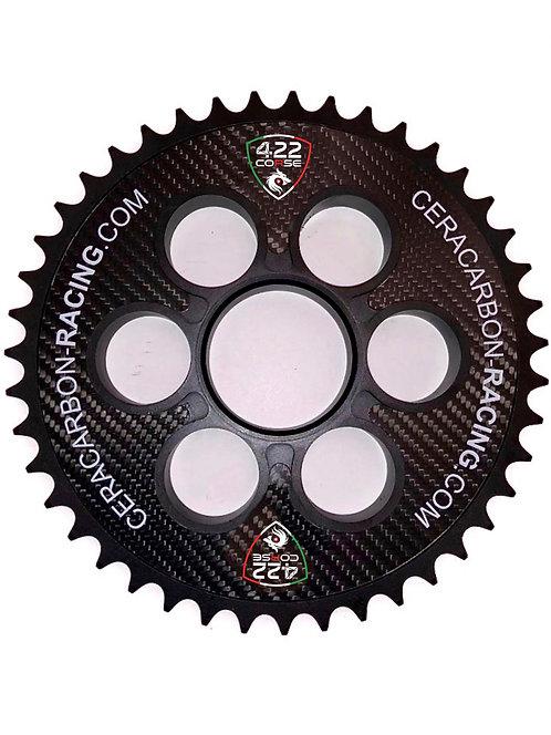 Ceracarbon Kettenrad Ducati Aluminium-Keramik-Carbon