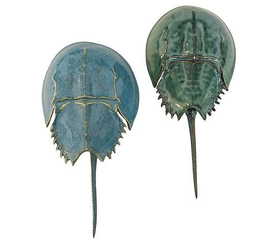 Ceramic Horseshoe Crabs by Mark Rea